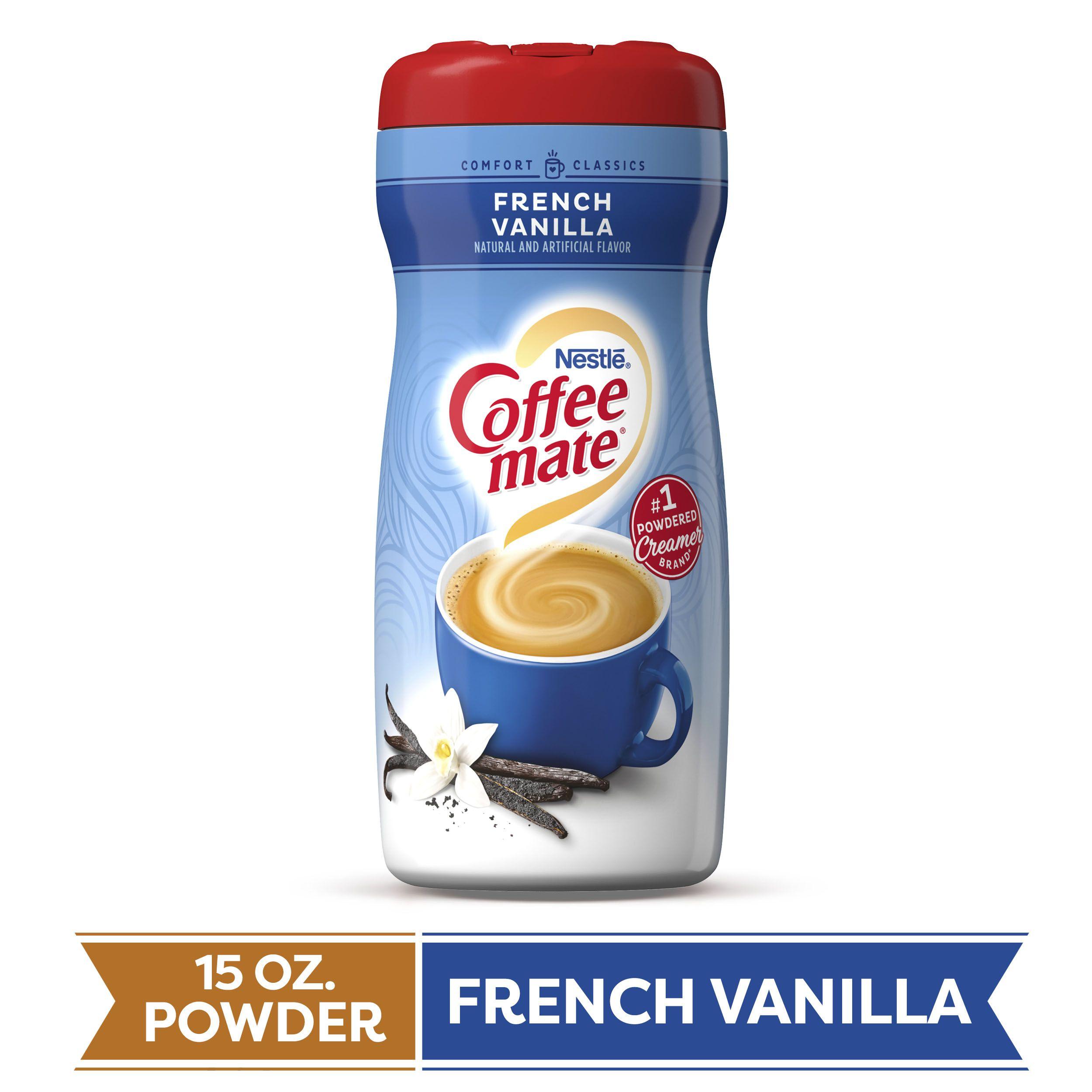 Coffee mate french vanilla powder coffee creamer 15 oz
