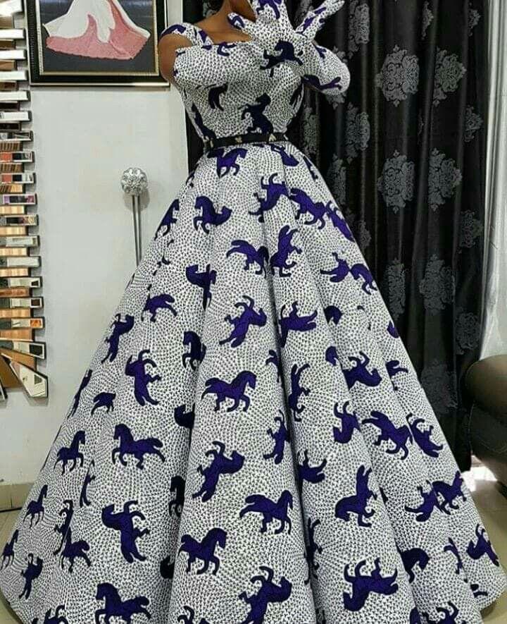 Robe Africaine: Ankara Dress In 2019