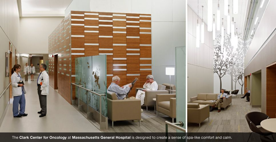 Clark Center For Oncology At Mass General Boston Interior Design