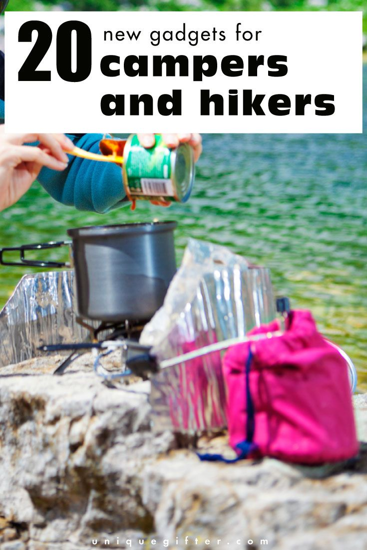 gifts for hikers and campers