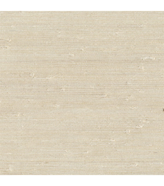 Ling Cream Grasscloth Wallpaper Sample
