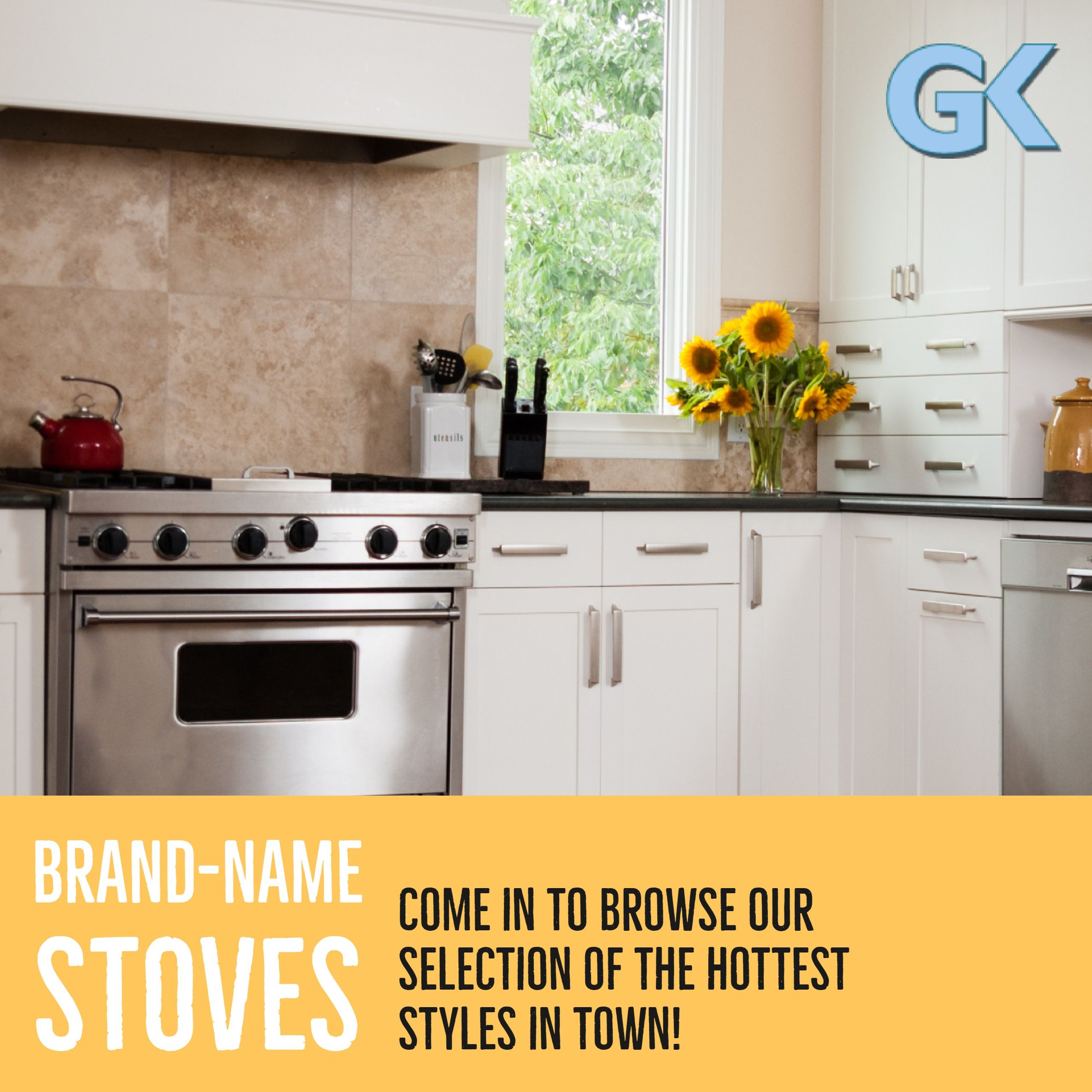 Heat Things Up In Your Kitchen With A Brand New Stove From The Best Brands On The Market Stove Kitchen Kitchenmaid Bosch New Stove Kitchen Kitchen Maid