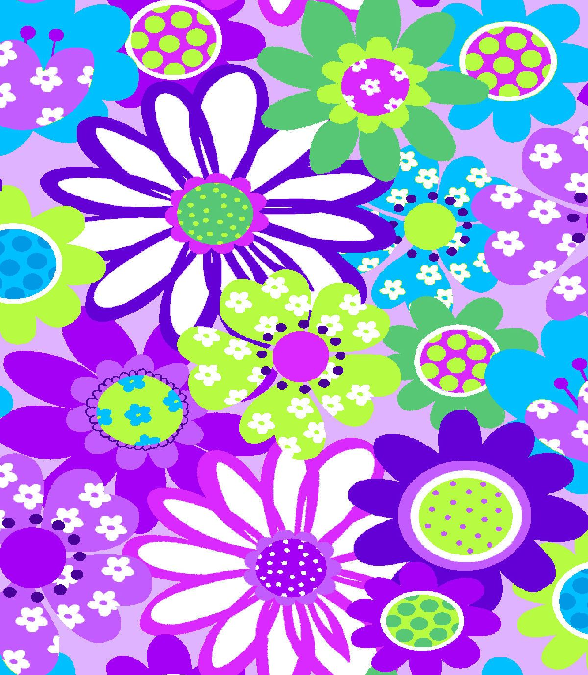 Tutti Fruitti Collection Embossed Chic A Dee Large Floral