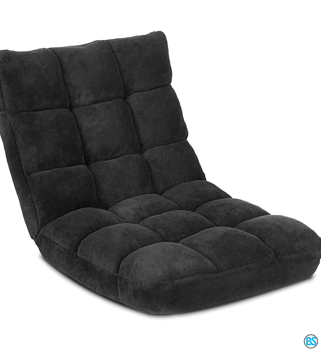 Chairs Giantex Floor Folding Gaming Sofa Chair Lounger Folding Adjustable 14 Position Sleeper Bed Couch Recliner Black In 2020 Gaming Sofa Sofa Chair Couch Bed