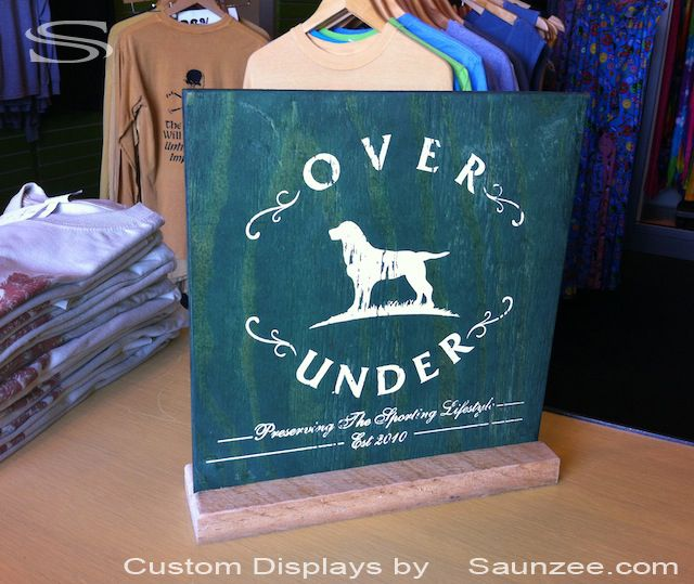 Boutique Sign Ideas Ply Wood Double Sided Sign Free Standing Stunning Free Standing Signs Displays