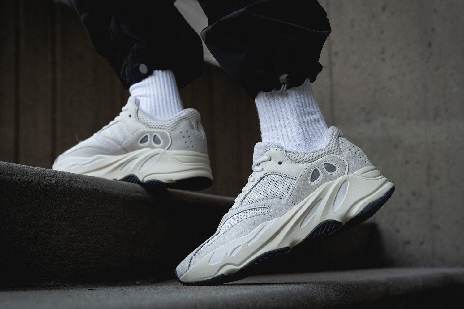adidas Yeezy Boost 700 Analog Outfit On Foot Release Date EG7596