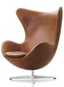 jacobsen egg chair leather gravity balans arne in elegance walnut furniture