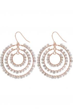 <3 labratorite earrings