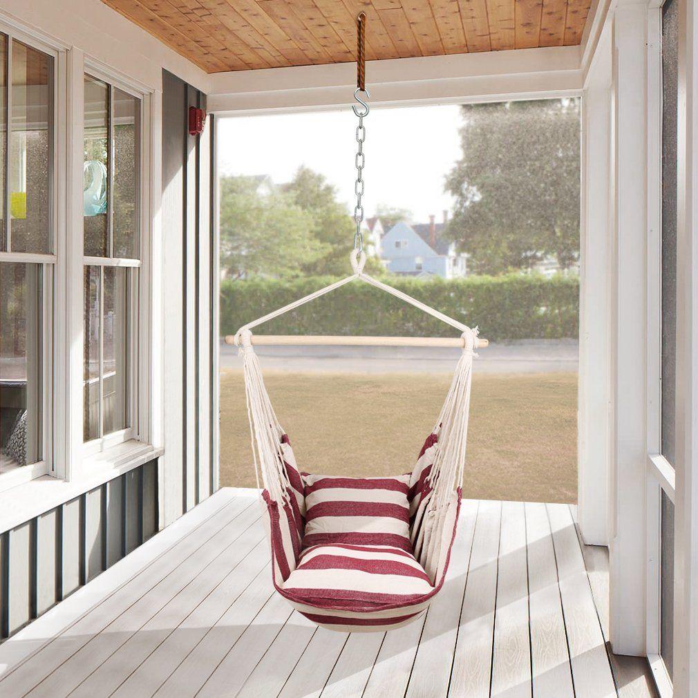 Sedie A Dondolo Per Terrazzo holifine sedia sospesa amaca dondolo terrazzo balcone