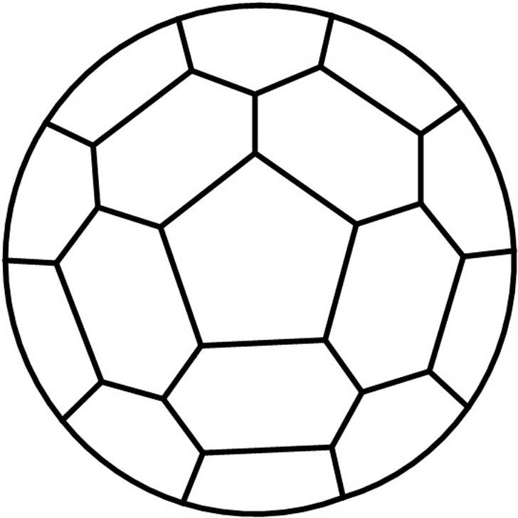 Darryls Pattern For A Stained Glass Soccer Ball