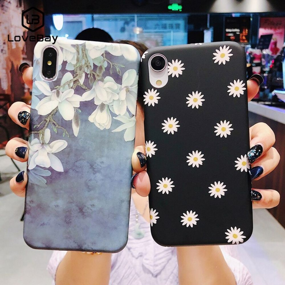 Lovebay phone case for iphone x xr xs max 8 7 6 6s plus
