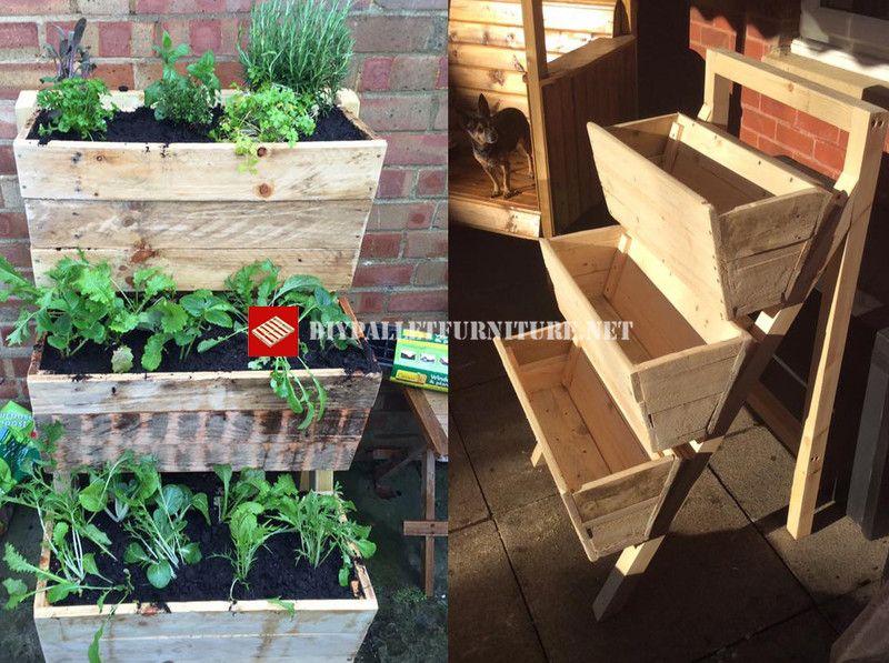 28+ Jardiniere fait avec des palettes ideas