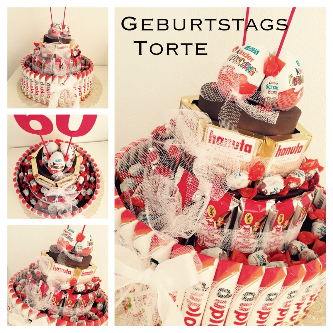 s igkeiten torte mit milka und kinderschokolade geschenke pinterest gift birthdays and. Black Bedroom Furniture Sets. Home Design Ideas