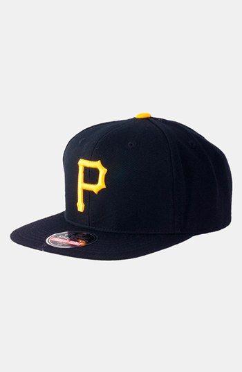 Men s American Needle  Pittsburgh Pirates 1949 - 400 Series  Snapback  Baseball Cap - Black b7a309e2189