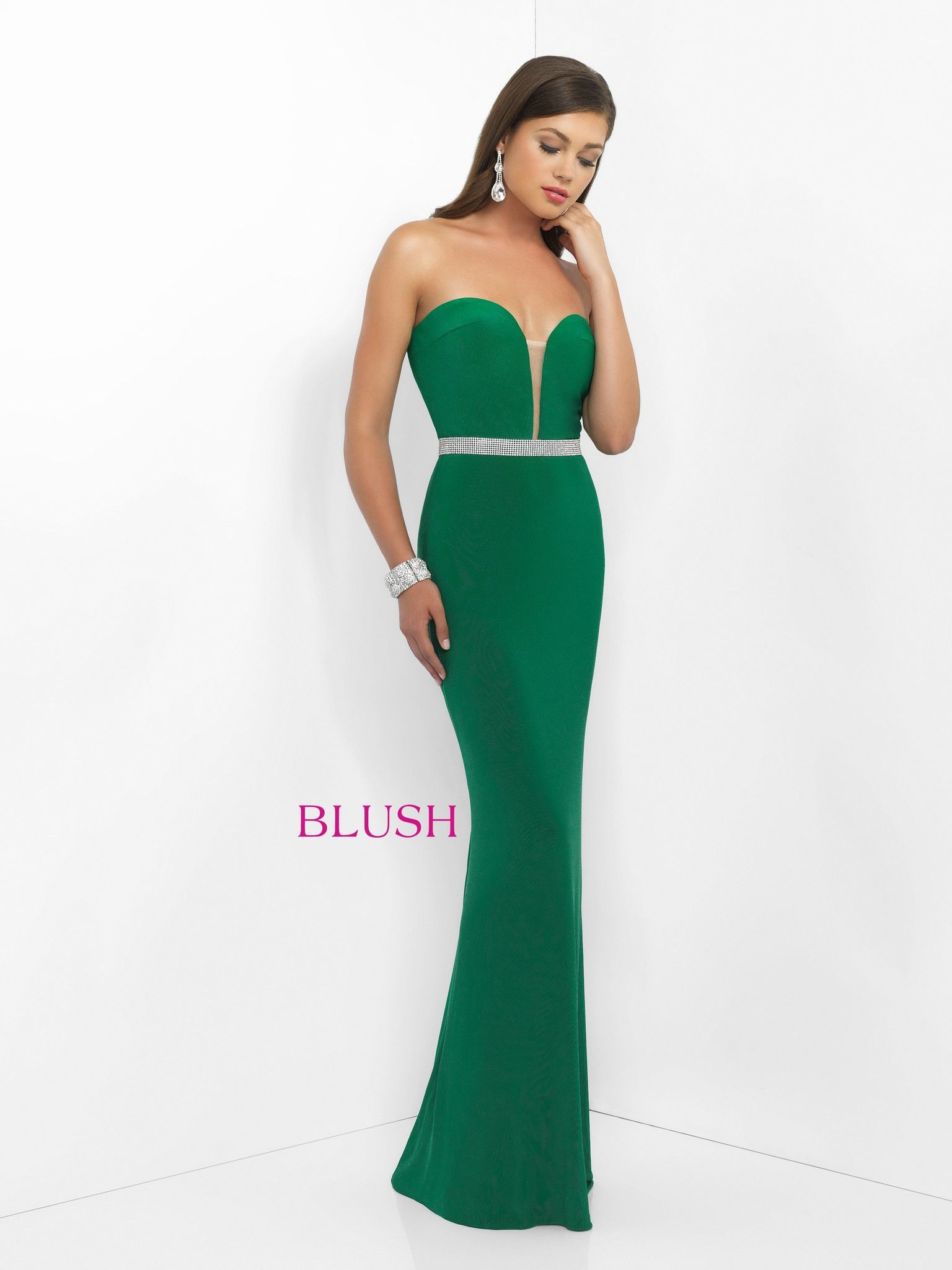 Blush Prom 11010 Emerald | Products | Pinterest