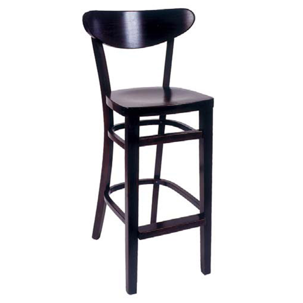 Excelsior Wood Bar Stool At Modaseating Com Bar Stools Wood Bar Stools Restaurant Bar Stools