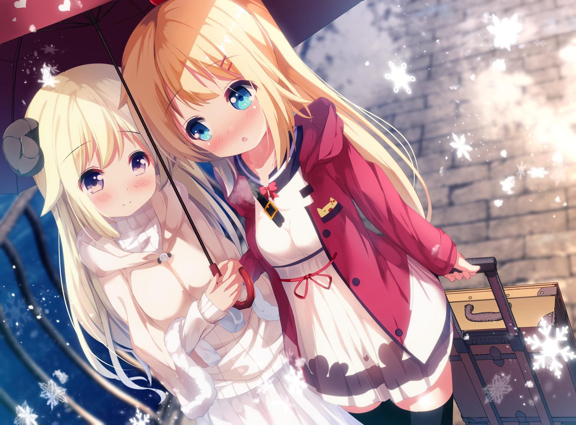 Umbrella [Original] in 2020 Anime sisters, Manga girl