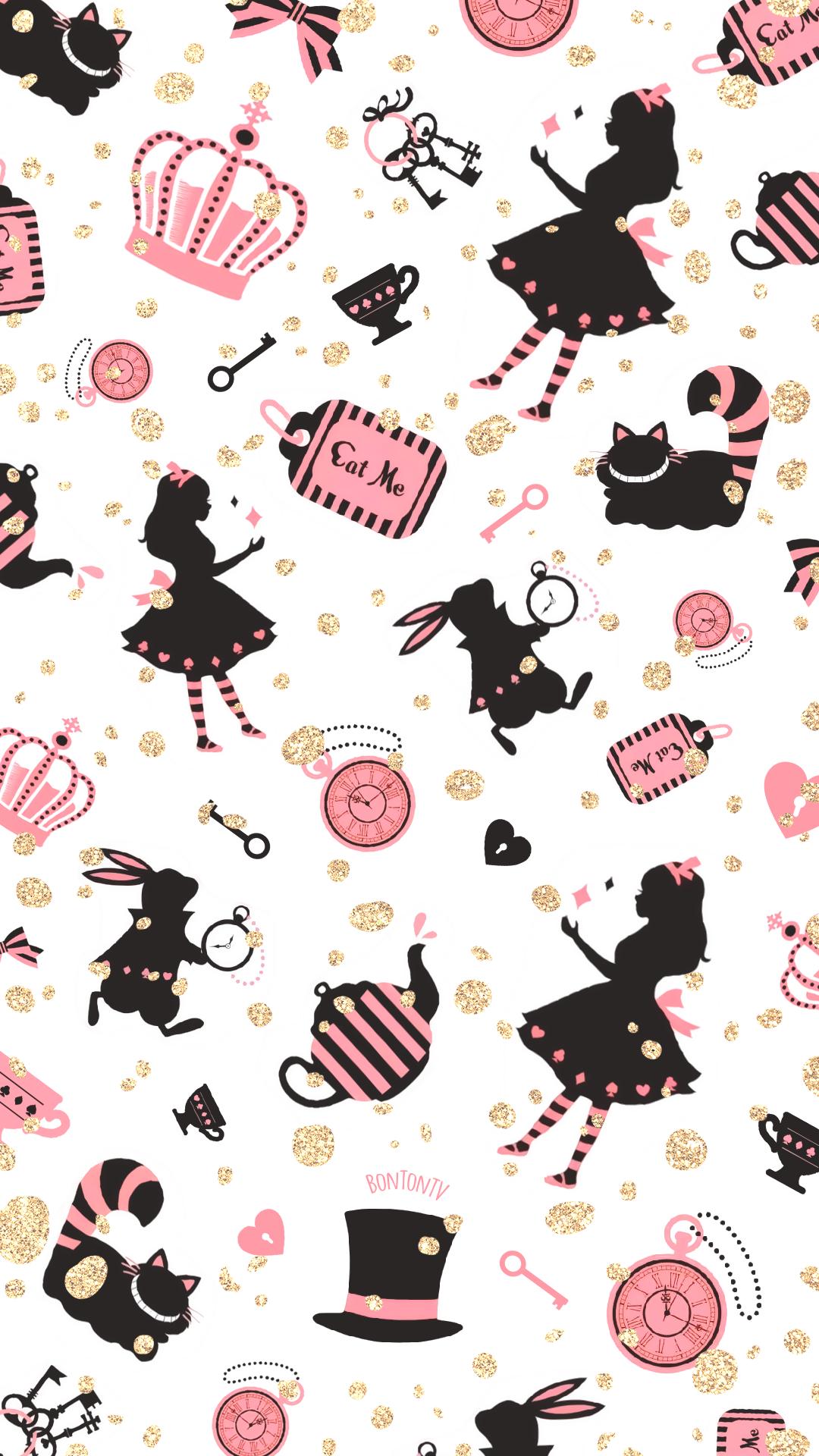 Phone Wallpapers Hd From Bonton Tv Free Download 1080x1920 Wallpapers In 2020 Alice In Wonderland Background Alice In Wonderland Pictures Cute Disney Wallpaper
