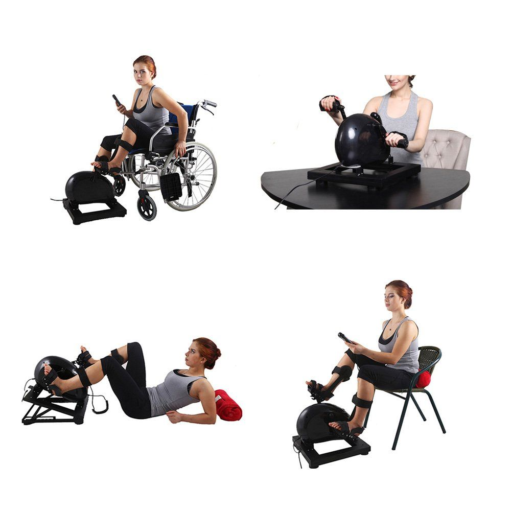 Home physical therapy equipment - Konliking Physical Therapy Rehabilitation Pedal Exerciser Indoor Electric Bike Doing Training Home When Lying Down In