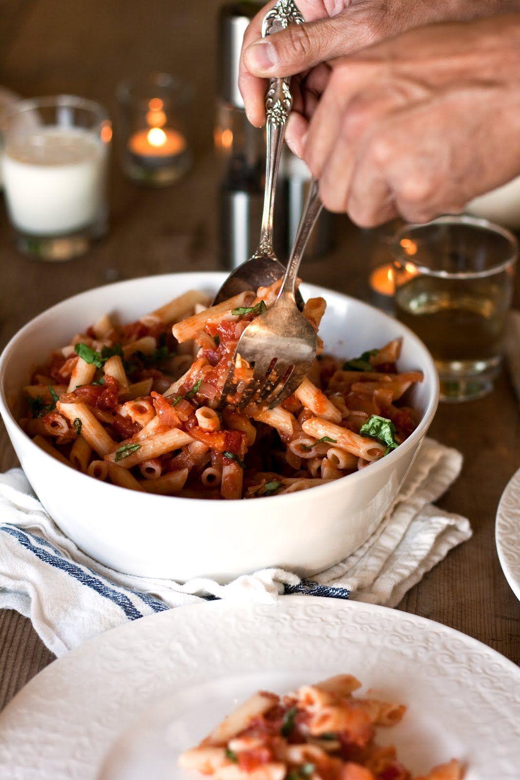 keep it simple, keep it fresh: roasted garlic pasta/ a family favorite