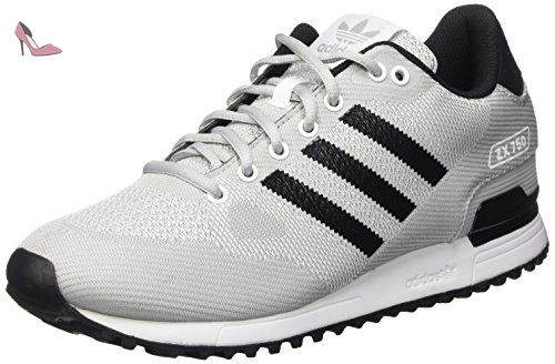 adidas ZX Flux 2.0, Sneakers Basses Femme - Noir (Core Black/Core Black/Night Flash S15), 38 2/3 EU