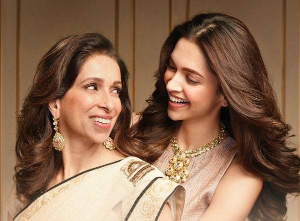Deepika Padukone E Sua Mae Deepika Padukone Mother Daughter Relationships Indian Celebrities