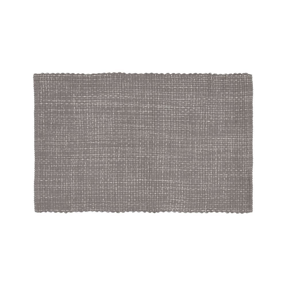 Della Grey Cotton Flat Weave Rug 30 Quot X50 Quot Woven Rug Rugs