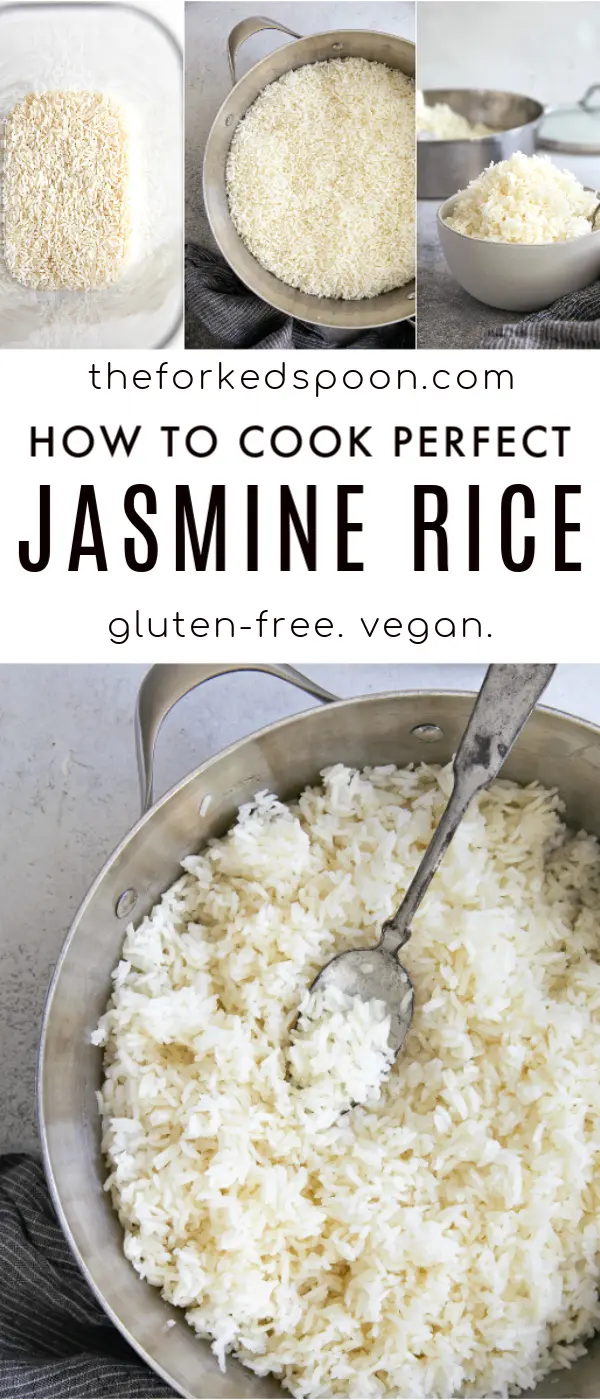 How to Cook Jasmine Rice   Recipe   Cooking jasmine rice ...