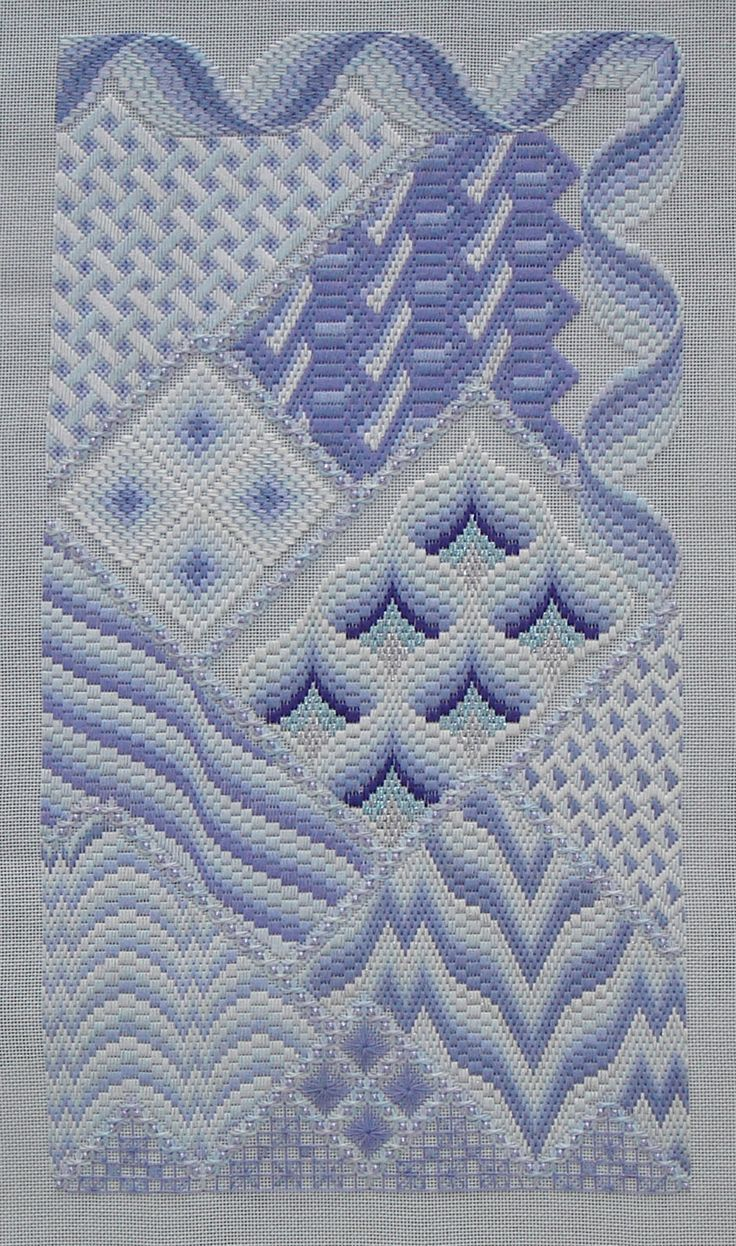 Resultado de imagen para bargello bordado | macrame | Pinterest ...