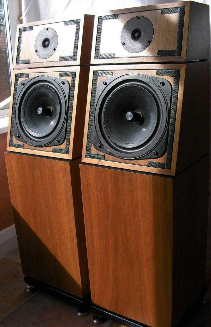 naim sbl mk2 vintage audio speakers