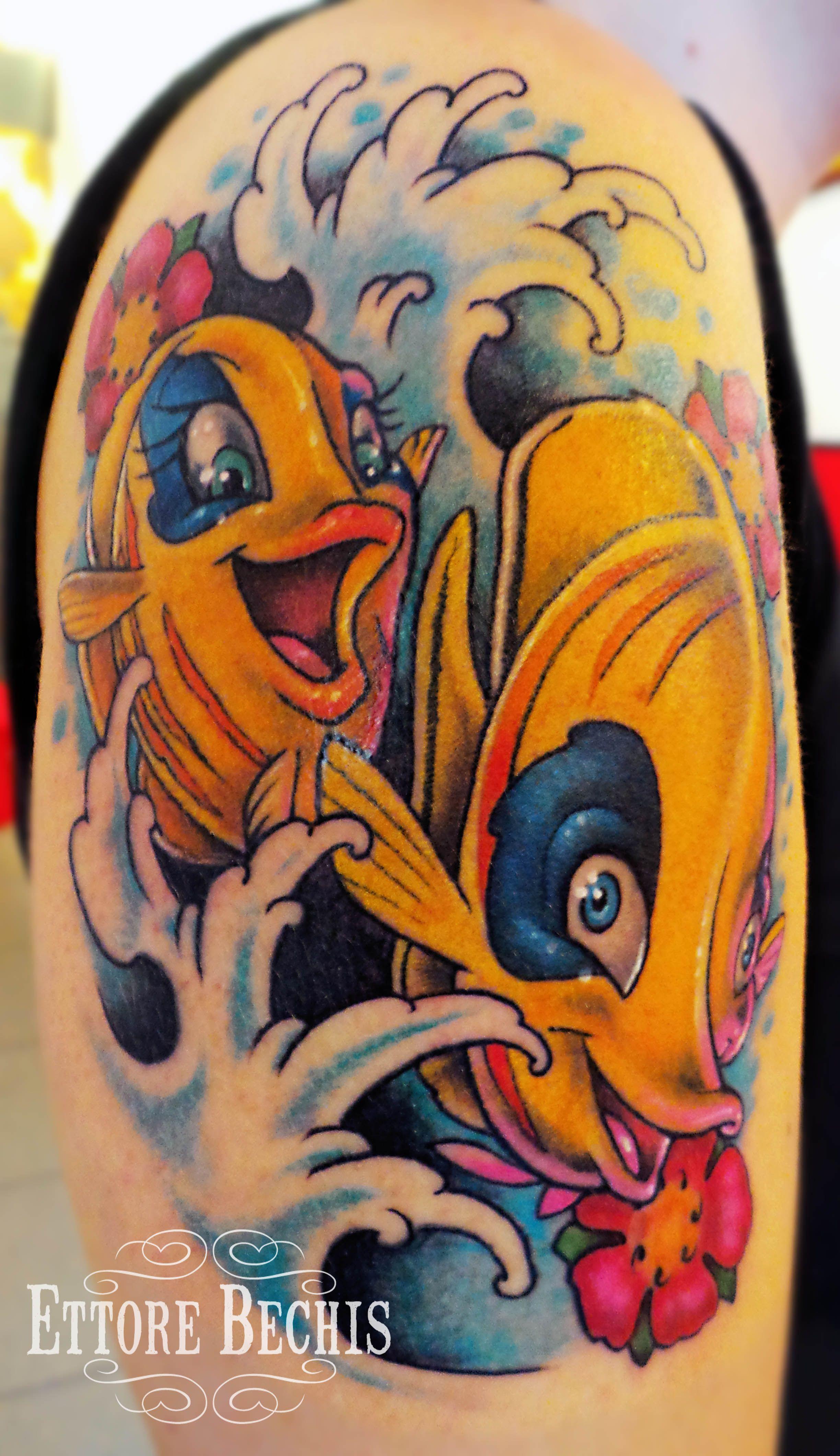 www.ettore-bechis.com Best Miami tattoo shop fish,cartoon,cherry ...