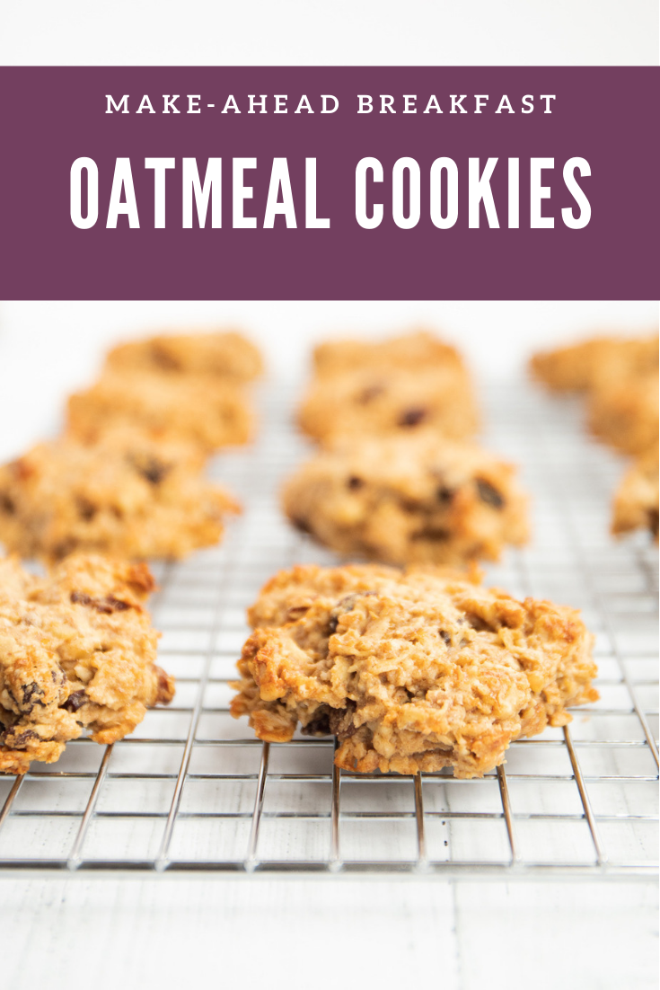 Breakfast Oatmeal Raisin Cookies  Spoonful of Kindness These gluten free oatmeal raisin cookies are essentially baked oatmeal that you can eat with your hand no cutlery o...