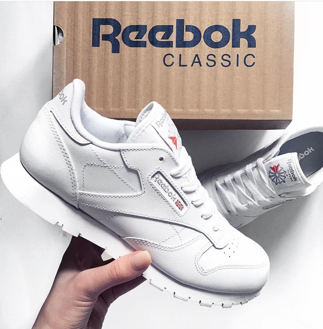 release date: dec67 fe126 Reebok Classic in white/weiß // Foto: sarahwhnr (Instagram ...