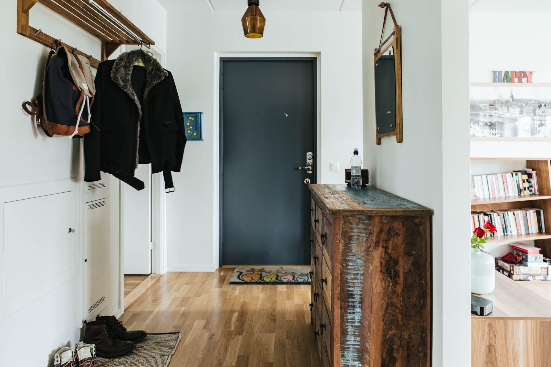 Scandi hallway details