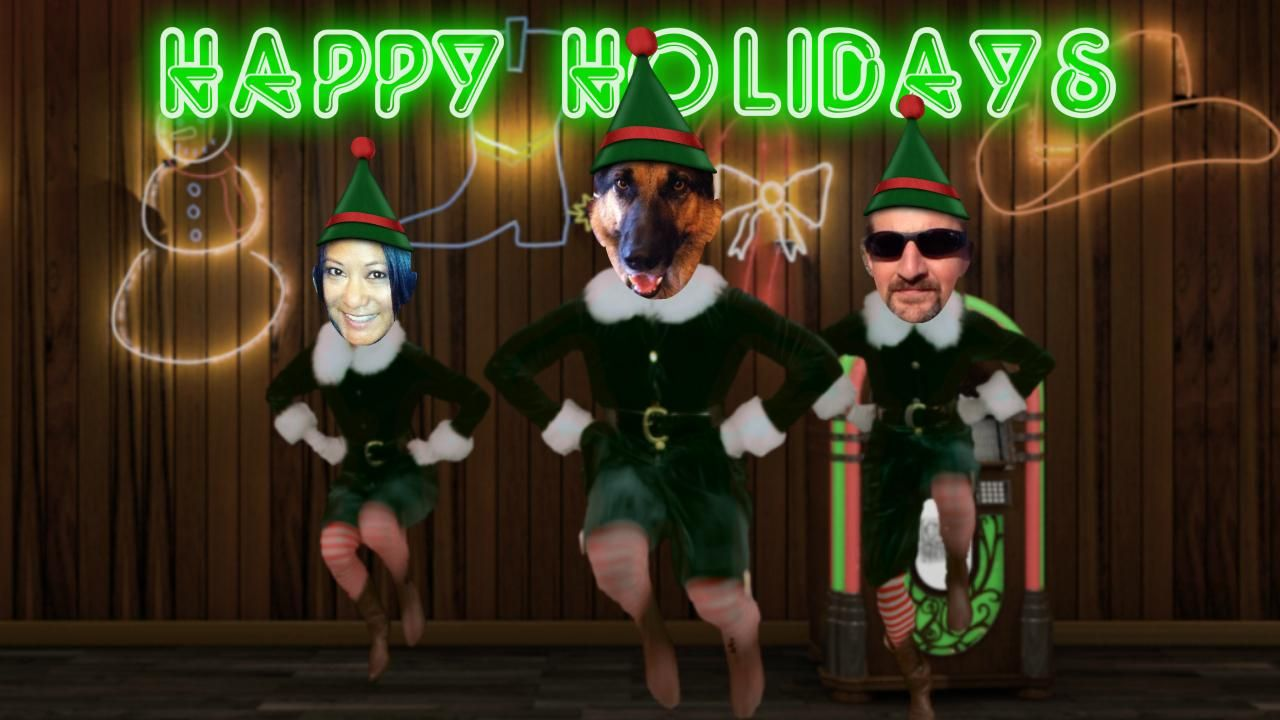 our Christmas card this year LOL!