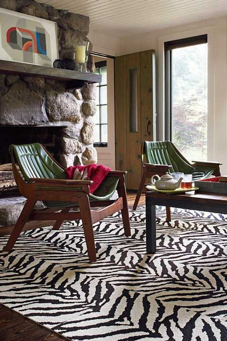 Flor Spring 2012 Collection Mod Zebra Ii Carpet Tiles