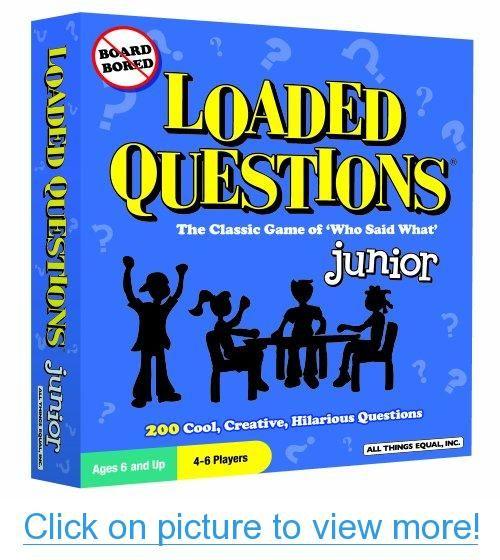 Loaded Questions: Junior #Loaded #Questions: #Junior | Toys