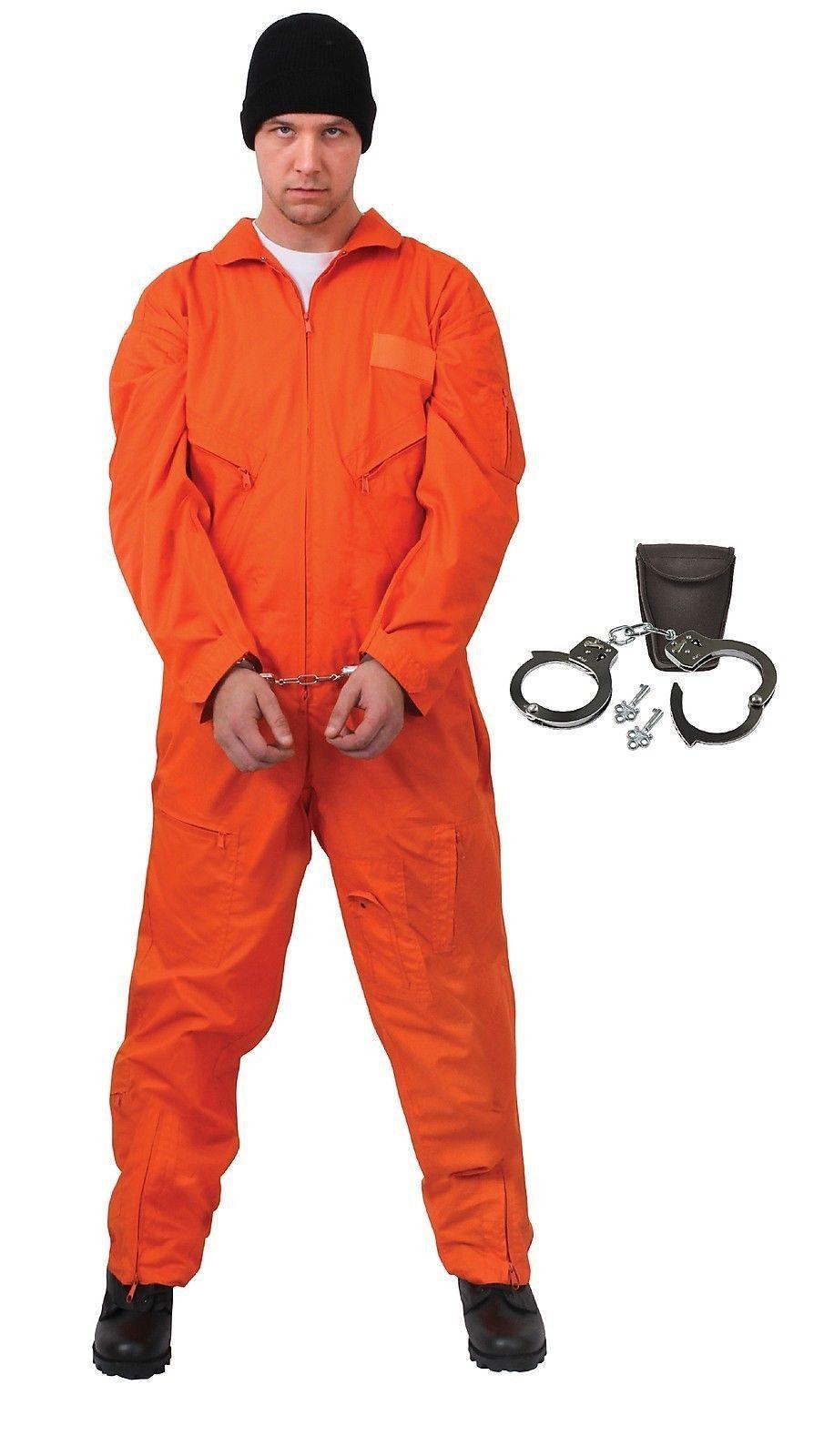 Prisoner Jail Man Convict Men Adult Costume