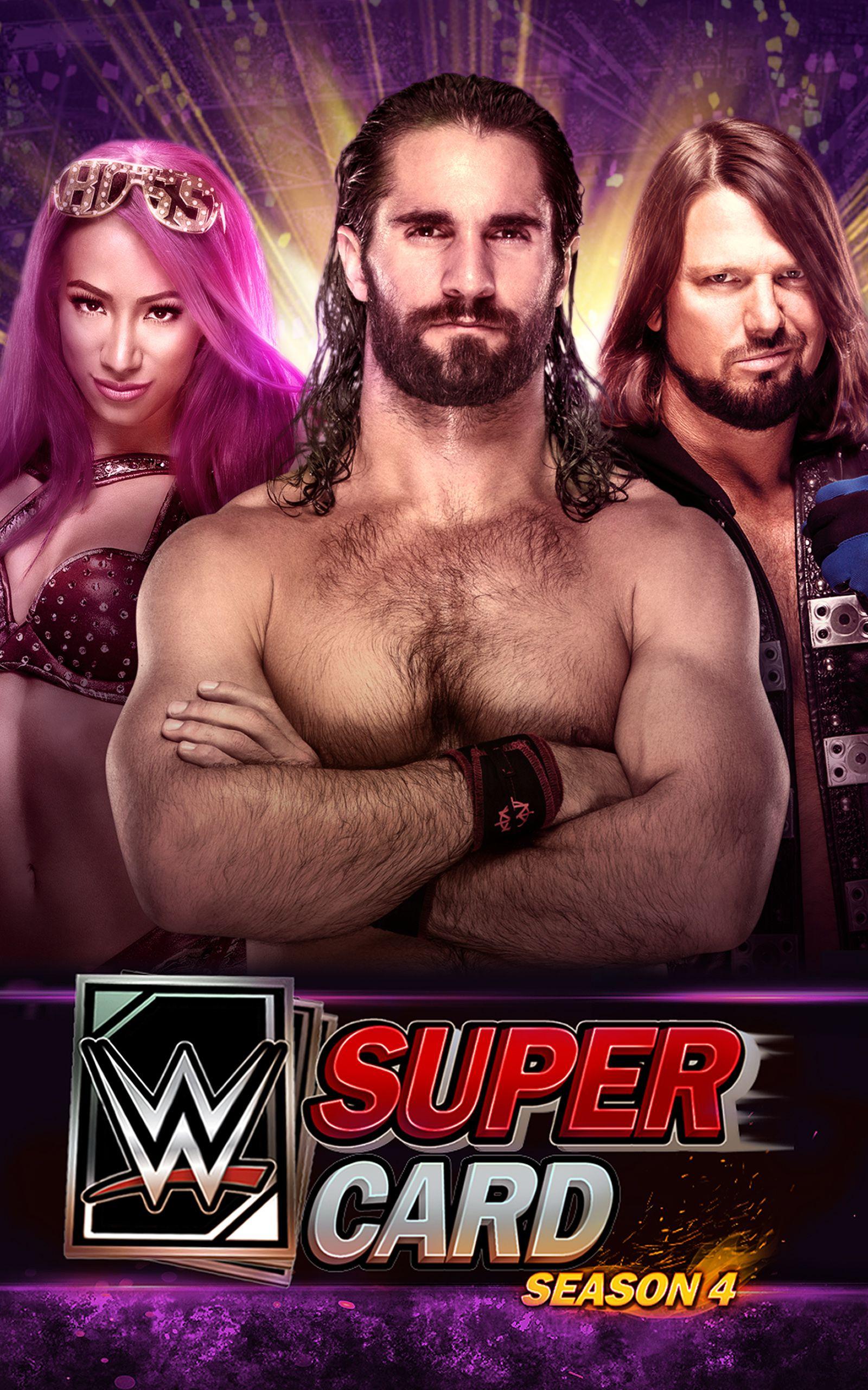 WWE SuperCard WWE, SuperCard Wwe, Battle games, Game app