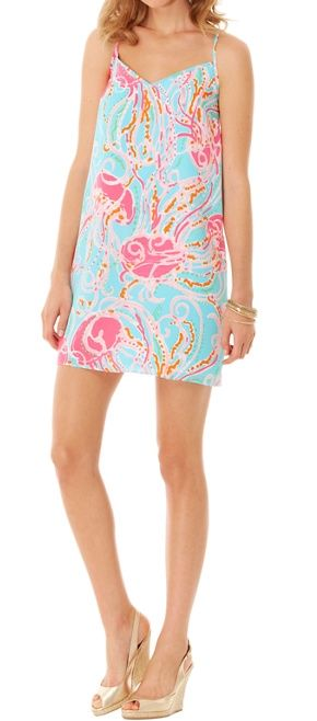 0aab83da8c9c Lilly Pulitzer Dusk Strappy Silk Slip Dress in Jellies Be Jammin ...