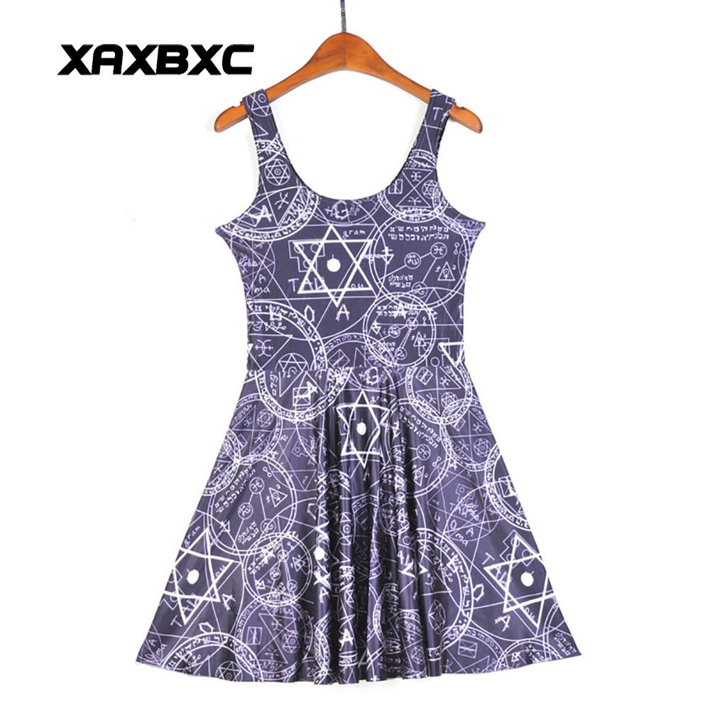 NEW Arrival 1205 Sexy Girl Women Summers pellbound symbol curse 3D ...
