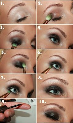 Maquillaje Para La Noche O Fiesta Paso A Paso Maquillaje Belleza Y Moda Para La Mujer Maquillaje De Noche Como Maquillarse Los Ojos Maquillaje De Belleza