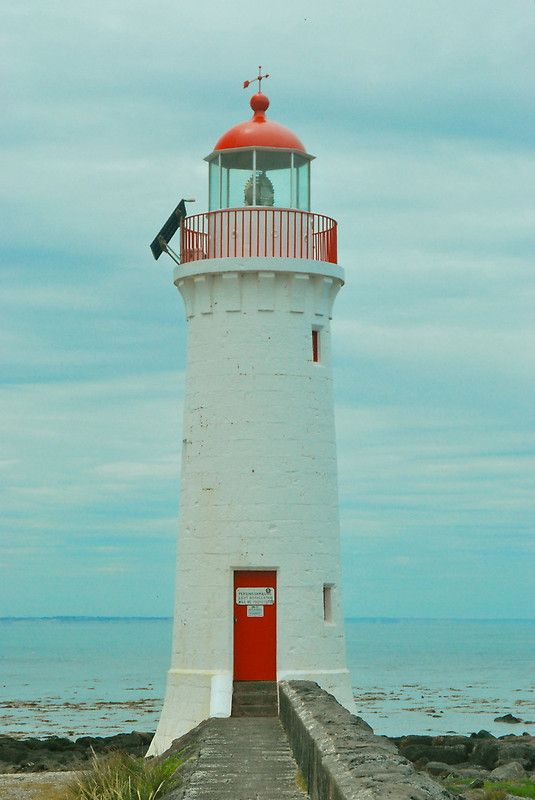 Port Fairy Lighthouse Australia By Peasticks