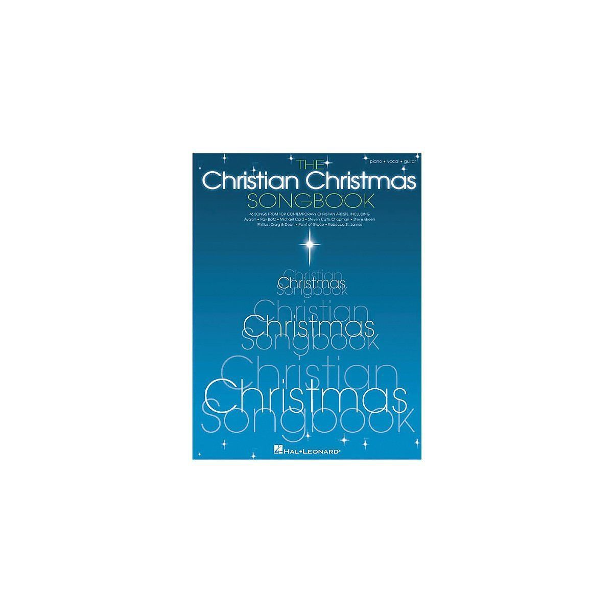 The Christian Christmas Piano, Vocal, Guitar Songbook - Hal ...