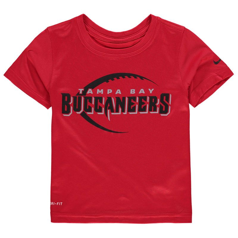Tampa Bay Buccaneers Nike Toddler Legend Icon Performance T Shirt Red Tampa Bay Buccaneers Shirts T Shirt