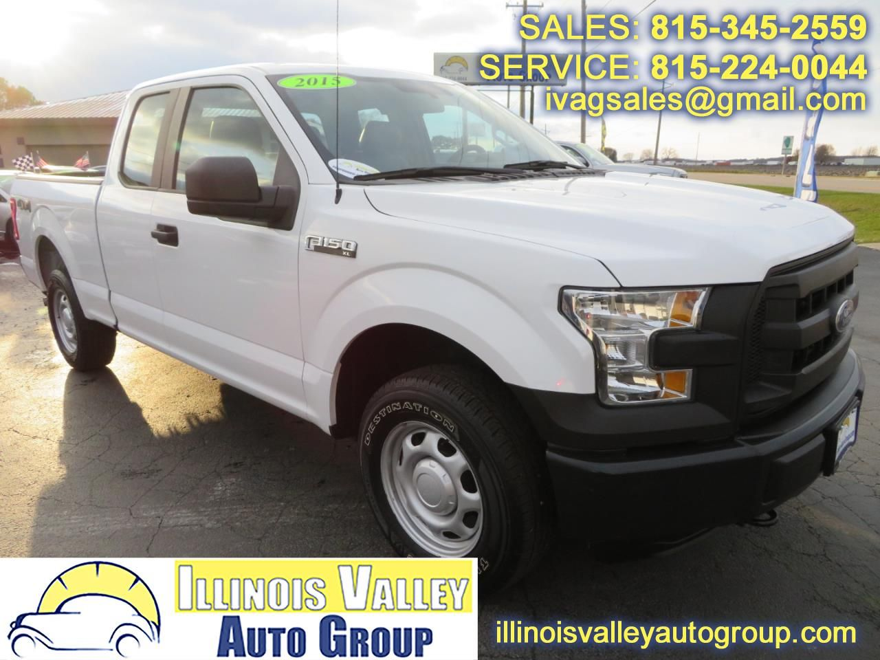 Used 2015 Ford F150 XL SuperCab 6.5ft. Bed 4WD for Sale
