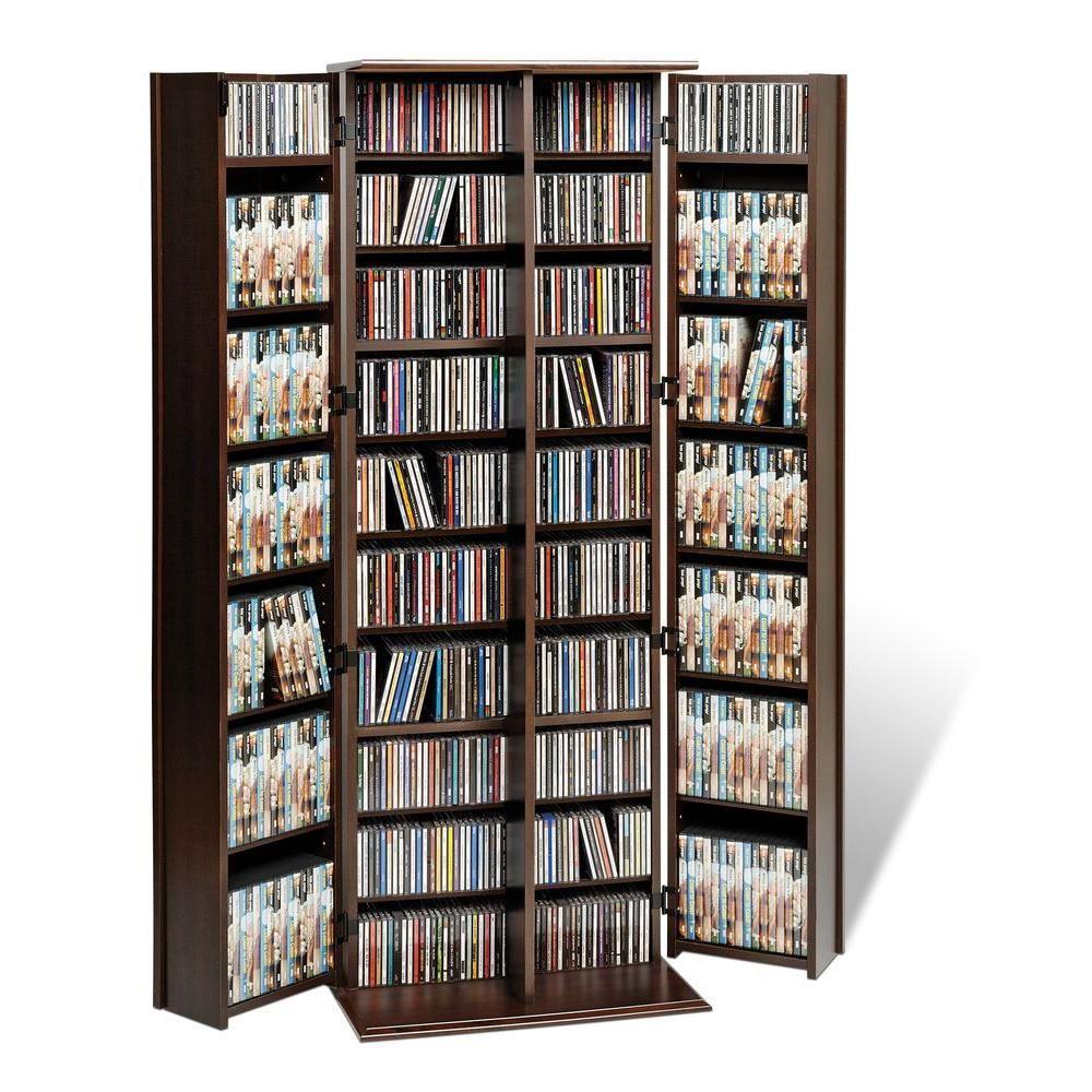 Prepac Espresso Media Storage Els 0448 K The Home Depot In 2021 Diy Dvd Storage Media Storage Cabinet Dvd Storage