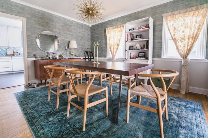 This crafty couple tackled every project of this home's remodel themselves, including gutting the whole kitchen and rebuilding it from scratch.