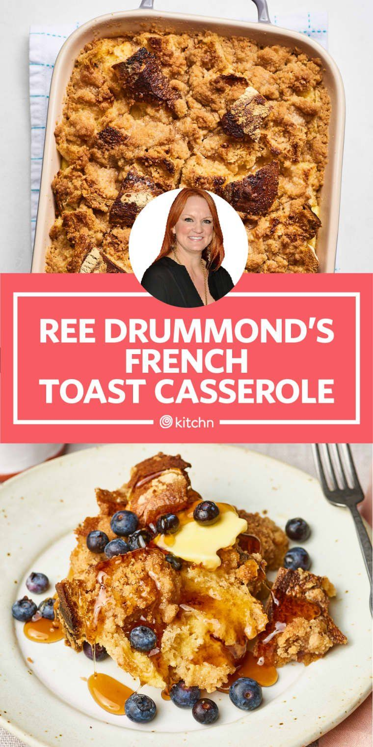 Photo of Ease into Your Morning with Pioneer Woman's French Toast Casserole