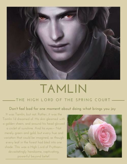 A Court Of Thorns And Roses Before Tamlin Became A Complete